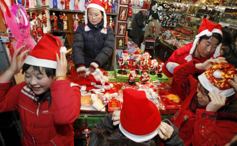 Christmas In China.How Christmas Is Celebrated In Communist China Metallicman
