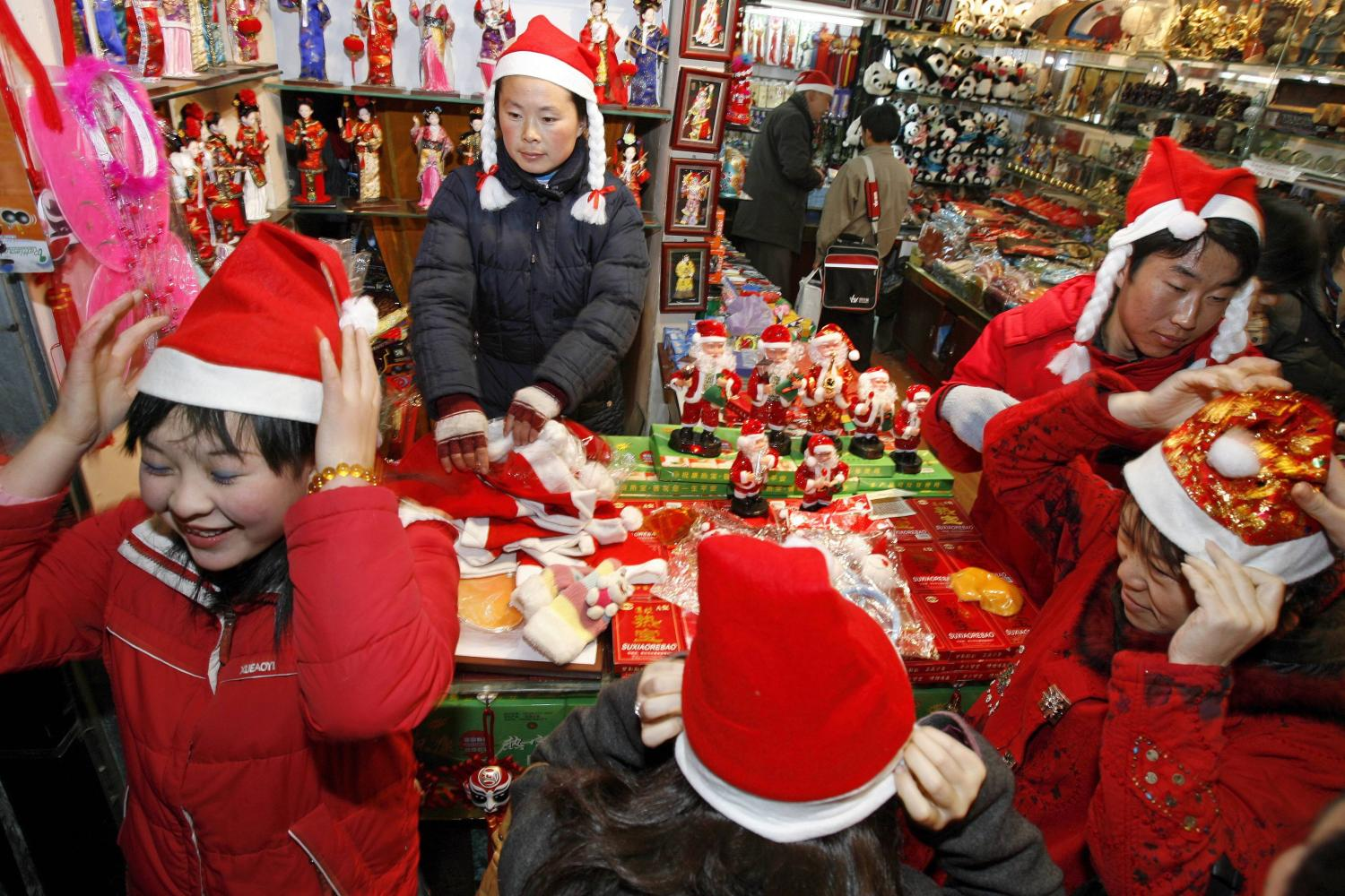 Chinese Christmas.How Christmas Is Celebrated In Communist China Metallicman