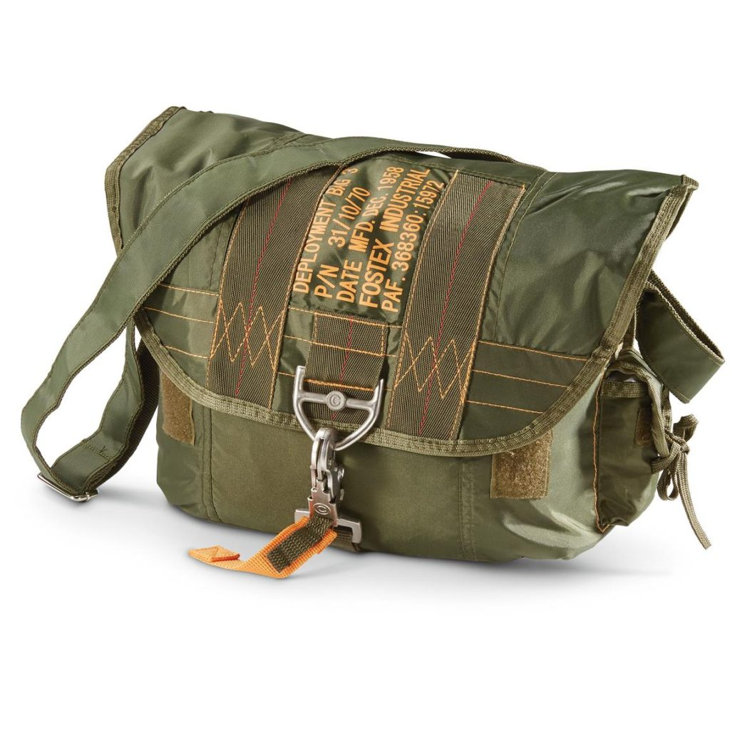 078d1927 Tactical Parachute Shoulder Bag with Latch