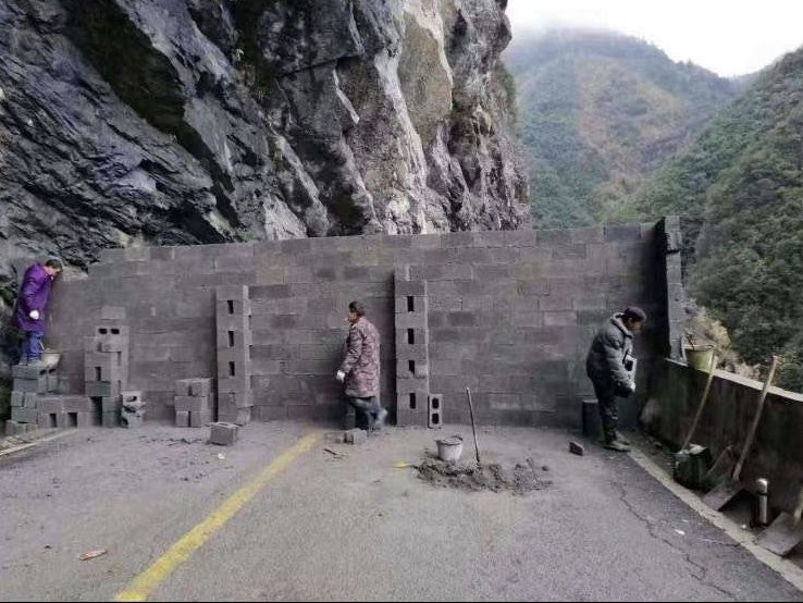 Individual villages are laying down roadblocks all over China.